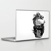 dragon Laptop & iPad Skins featuring Dragon by Jonathan Keuchkarian