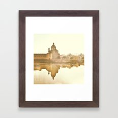 Florence Reflected Framed Art Print