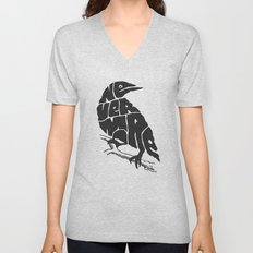 Quoth The Raven Unisex V-Neck