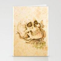 Skull4 Stationery Cards