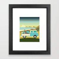 Vespavan Framed Art Print