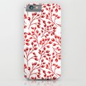 Autumn red berries iPhone & iPod Case