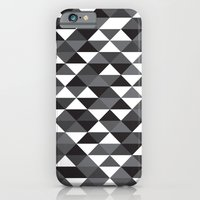 iPhone & iPod Case featuring Triangle Pattern #4 by LoMoCo