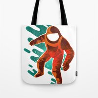 Space Distortion Tote Bag