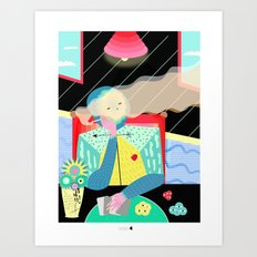 CHECK Art Print
