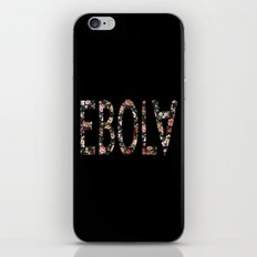 Floral Ebola iPhone & iPod Skin