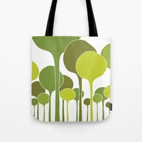 Green Palette Tote Bag