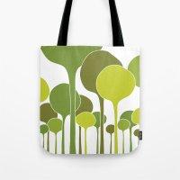 Green Palette Tote Bag