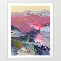Untitled 20100401 (Lands… Art Print