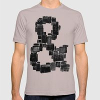 Ampersand Mens Fitted Tee Cinder SMALL