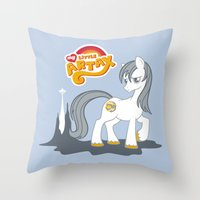 My Little Artax Throw Pillow