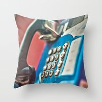 One Call Throw Pillow