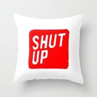 Mute Throw Pillow