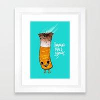 Imma Kill You Framed Art Print