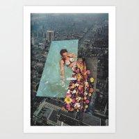 Last Swim Art Print