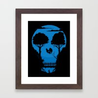 Gets the rat! Framed Art Print