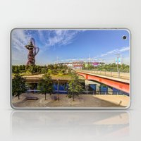 West Ham Olympic Stadium And The Arcelormittal Orbit  Laptop & iPad Skin