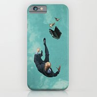 iPhone Cases featuring The salesman by Seamless