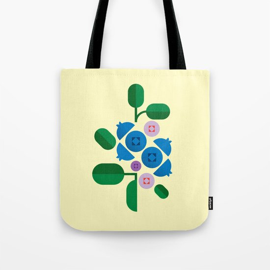 Fruit: Blueberry Tote Bag