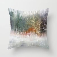 Telling Tales Throw Pillow