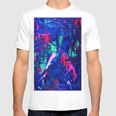 Emotion White SMALL Mens Fitted Tee