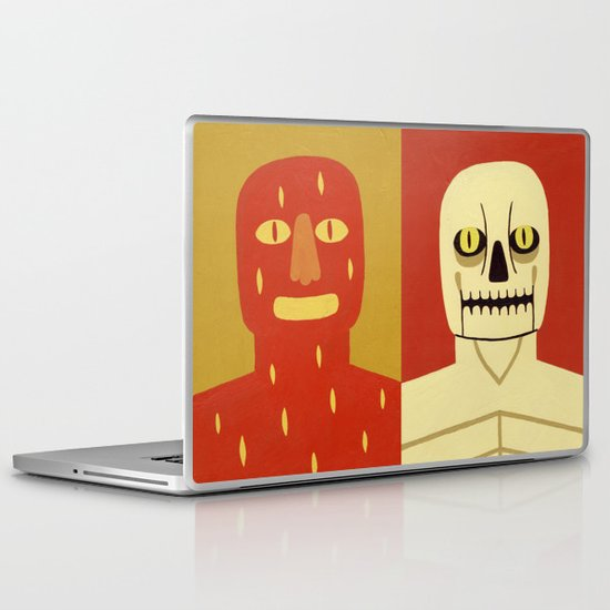 Fire and Bone Laptop & iPad Skin