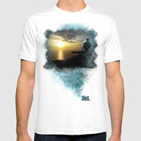 Divine Capture Mens Fitted Tee White SMALL