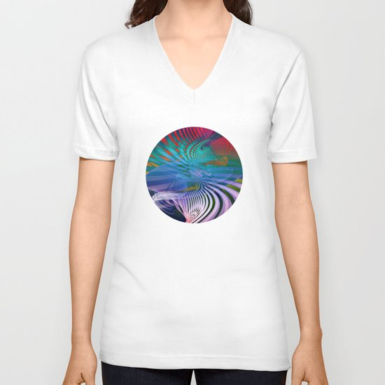 Gently Twisted V-neck T-shirt