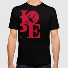 HOPE SMALL Black Mens Fitted Tee