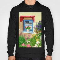 provencal_blue_window Hoody