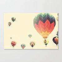 Misty Magic Flight Canvas Print