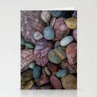 Rock Collection Stationery Cards