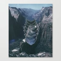 Canvas Print featuring Just an Earth-Bound Misfit by Psychonautical