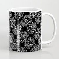 Repeating Day Of Dead Th… Mug