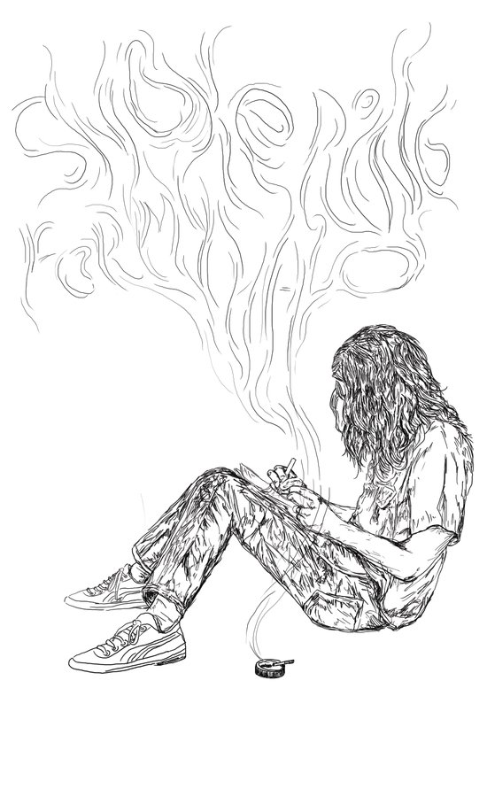 kurt vile t-shirt Art Print