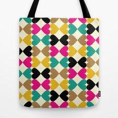 Bow Hearts #2 Tote Bag
