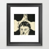 Animal Spirits-Rooster Framed Art Print