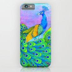 Paisley Peacock Slim Case iPhone 6s