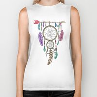 Big Dream Catcher Biker Tank