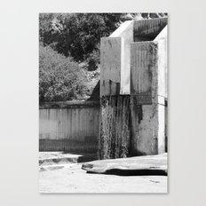 Runoff Waterfall Canvas Print