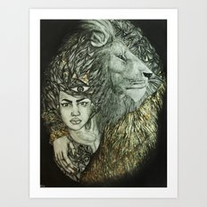 Panthera I Art Print
