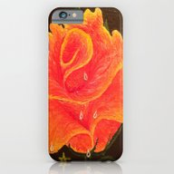 iPhone & iPod Case featuring Orange Dream Rose In Acr… by ANoelleJay