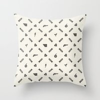 Life Then Love Then Deat… Throw Pillow