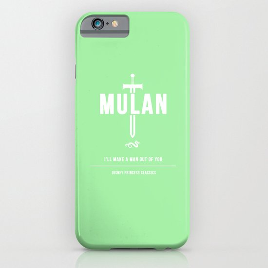 Disney Princesses: Mulan Minimalist iPhone & iPod Case