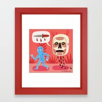 Nightmare Framed Art Print