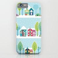 Ski house iPhone 6 Slim Case