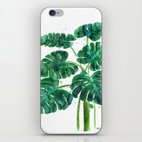 Monstera iPhone & iPod Skin