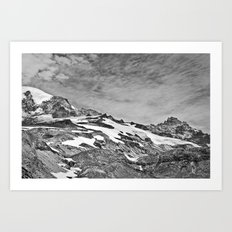Rugged Mountain Hike Art Print
