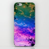 Rainbow Forest iPhone & iPod Skin