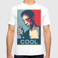 Cool Coolcoolcool Mens Fitted Tee White SMALL